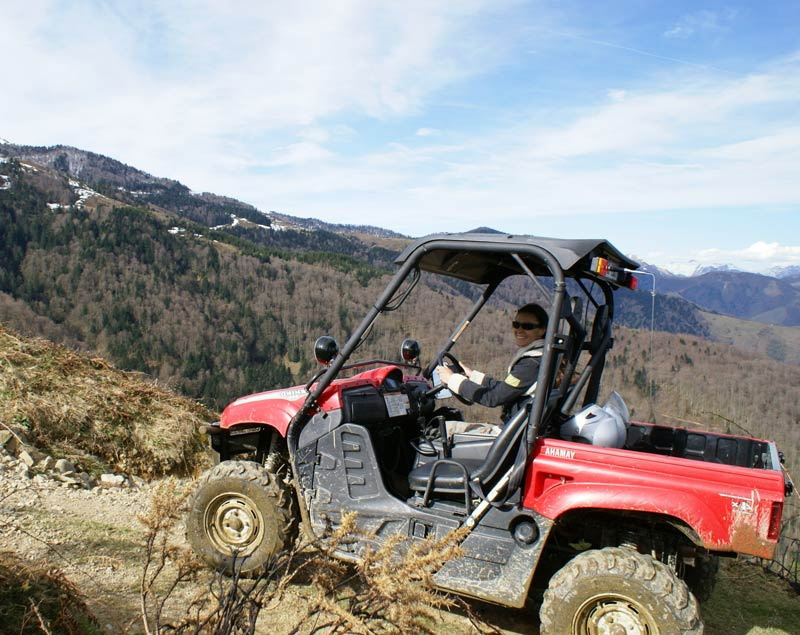 organisation de Rallye quad aquitaine team building incentive evenemenentiel